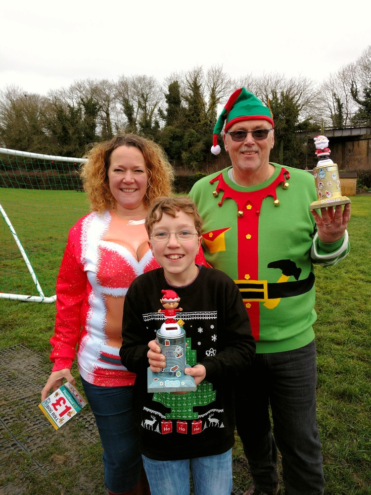 Christmas Sweater Shoot 2017 - Winners